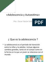 Adolescencia y Autoestima»