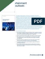 M&E outlook-brochure 2010 - 2014