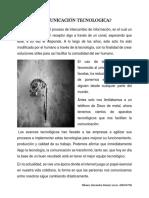 Nikaury Jimenez Lucas, A00134796 - La Comunicacion y la tecnologia