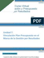 Vinculación Plan Presupuesto GpR