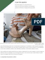 El trabajo oculto en un par de zapatos - Periódico 15