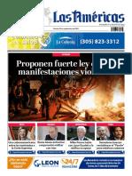 DIARIO LAS AMÉRICAS Portada digital del martes 22 de septiembre de 2020