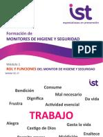 MOD 1 - ROL Y FUNCIONES - FORMACIÓN DE MONITORES DE HIGIENE Y SEGURIDAD.pptx