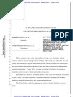 Badella v. Deniro Marketing, 10-Cv-03908 (N.D. Cal.; Jan 24, 2011)