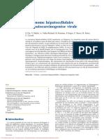 Carcinome hépatocellulaire et hépatocarcinogenèse virale