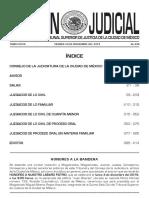 Boletín 30 de Noviembre de 2018
