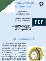 Desarrollo Antibioticos  Act. Nº 4