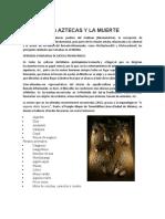 LOS AZTECAS Y LA MUERTE