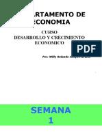 Clases de Desarollo y Crecimiento Economico