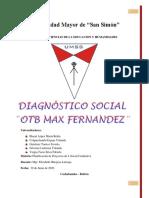 DIAGNOSTICO SOCIAL. GRUPO 11