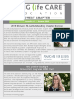 Aging Life Care Association Midwest Chapter Newsletter  New Member Spotlight featuring Optimal Living
