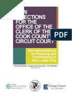 2020 Clerk Transition Report