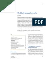 Physiologie du pancréas exocrine (2012)