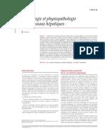 Physiologie et physiopathologie des vaisseaux hépatiques
