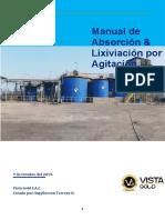 manual abs y lixi de au Vista Gold SAC