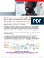 Minimize server support hassle using Dell EMC™ ProSupport™ Plus for Enterprise with Dell EMC SupportAssist