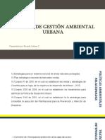 Política de gestión ambiental urbana