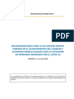 MANEJO SEGURO DE CADAVERES - recomendaciones-sepaf