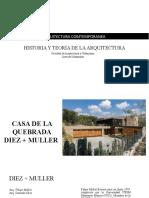 Arquitectura Comtemporanea Ecuador