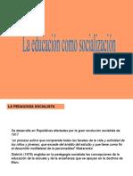 tema 3 pedagogia socialista