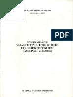 Sri Lanka Valve standard 1184