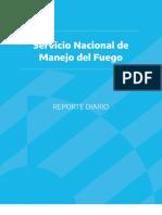 Reporte de Incendios en Argentina