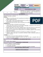 Plan Diagnóstico - 4to Grado Educación Socioemocional (2020-2021)
