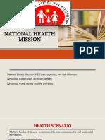 national healthmission-NHM