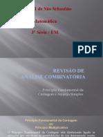 AULA  02 PRINCIPIO FUNDAMENTAL DA CONTAGEM e ARRANJO SIMPLES