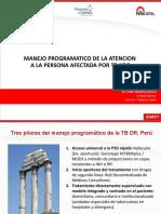 MANEJO PROGRAMATICO DE LA ATENCION de PAT XDR DR Martinez
