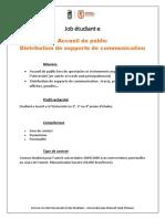 JOB Accueil-Distribution
