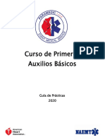 Guia de Practicas Primeros Auxilios Basico- 4hrs PARAMEDIC LINE