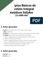 Gestión de Residuos (Información General)