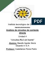 CIRCUITOS RLC SIN FUENTE