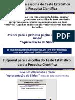A seleção do Teste Estatístico- versão 2.0.ppt