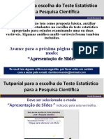 A Seleção Do Teste Estatístico- Versão 2.0