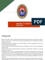 10.- Mineria y conflictos sociales