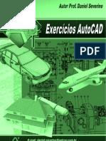 Prof. Daniel Severino - Caderno Exercicios AutoCAD 2011