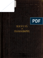 [1860] A Manual of Phonography, Isaac Pitman