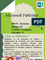 Introducción a publisher Yeesy