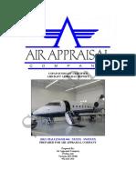 Sample Challenger 604 Appraisal Report