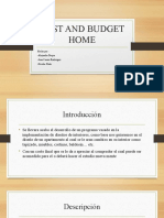 COST AND BUDGET HOME