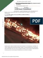 Nuevo bogotazo_ ardió hasta Transmilenio - Las2orillas
