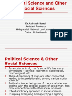 2. Politics and Other Social Sciences