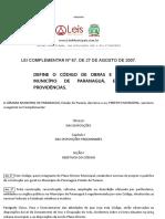Código de Obras de Paranaguá - PR.pdf
