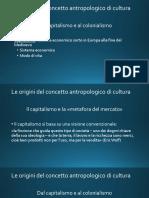 Le origini del concetto antropologico di Cultura