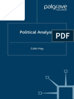 Hay, C., (2002) Political  Analysis_A Critical Introduction
