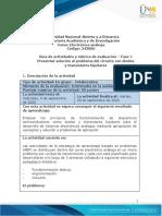 Guia de actividades y Rúbrica de evaluación - Fase 1 - Presentar solución al problema del circuito con diodos y transistores bipolares-convertido