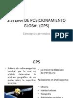 fundamentos de gps para SIG