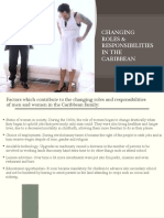Social Studies- Changing Roles in the Caribbean